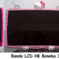 NEW BANDO TV LED UK 32 HELLO KITTY MAWAR