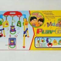 Baby Musical Play Gym Original atau Mainan Bayi Rattle Musik Original