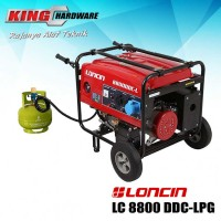 Generator / Genset Loncin LC 8800 DDC - LPG