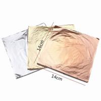 Jual kertas foil emas gold leaf foil sheet kertas prada sepuhan sepuh emas Murah