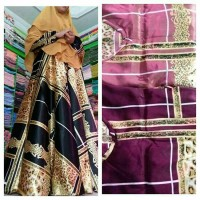 Jual gamis umbrella satin silk high quality Murah