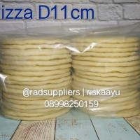 Jual Pizza Base, Dough Pizza, RotI Pizza D11cm..Perfect Pizza Garing! Murah