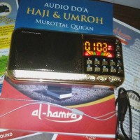 MP3 Player - FM Radio - Murottal Qur'an - Doa Haji Umroh - Adzan - dll