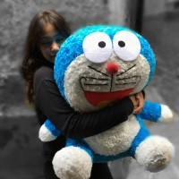 Boneka Doraemon Jumbo Bahan Spesial