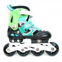 harga Cougar Inline Skate W/abec7 (30-33) Mzs835lsg-bk/gr-055000171 Tokopedia.com