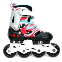 harga Cougar Inline Skate W/abec7 (34-37) Mzs835lsg-bk/wh-055000203 Tokopedia.com