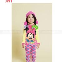 Harga junior wardrobe jw1 e piyama anak cewe import murah minnie | Pembandingharga.com