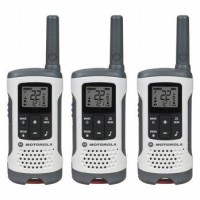 Motorola Walkie Talkie T260 - Walky Talky 3Pcs Up To 25 Mile - White