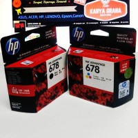 Tinta Printer HP 678 Komplit Original