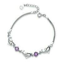 Gelang/bracelet Violet Dolphin Import Taobao Fashion Korea