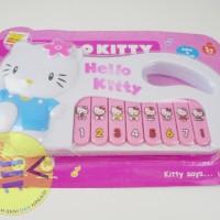 Mainan Anak Piano Hello Kitty