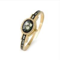 jam tangan ANDRE MOUCHE florali medium woman rose original