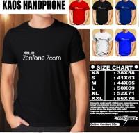 Kaos Gadget Handphone ASUS zenfone zoom Font/Baju Distro/Tshirt Hp
