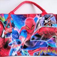 Jual Travel Bag / Tas Jalan / Koper Anak Spiderman K051 Murah