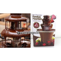 fondue fountain chocolate , mesin pencair coklat , cetakan kue mixer