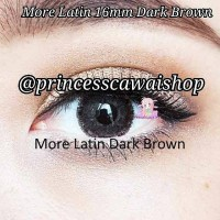 softlens more latin 16mm dark brown free softlens acak