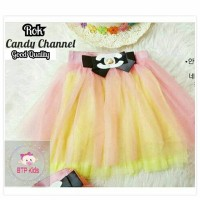 Rok Candy Chanel Import Tule Baju anak cewe