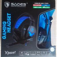 Headset Gaming Sades SA706 XPower High Quality sound