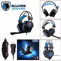 SA706 Headset Gaming Sades XPower High Quality sound