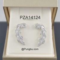 Anting putih daun PZA14124