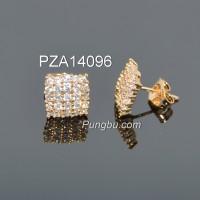 Anting emas segiempat PZA14096