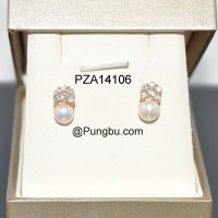 Anting emas mutiara PZA14106