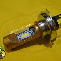 Lampu Utama LED Modern Vespa Aksesoris Sprint Primavera LX S, LXV GTS