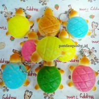 Squishy Mini Kura-Kura - Turtle Squishy Hewan Slow Rising stabilo