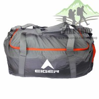 Tas Pakain Eiger 5345 Grey Duffel Bag Concisor L - Tas Lipat & Travel