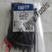 Cable Ties Ukuran 3.6 x 150 mm TOHO Hitam
