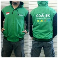 Jual jaket sweater GOJEK FLEECE Murah