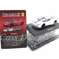 Kyosho 1:64 Ferrari 458 Speciale White Putih