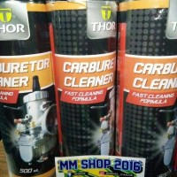 carbulator cleaner & penetrating oil thor