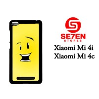 Casing HP Xiaomi Mi4i, Mi4c Cute Cartoon Smile Custom Hardcase Cover