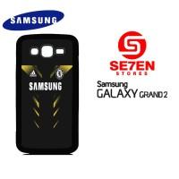 Casing HP Samsung Grand 2 chelsea black Custom Hardcase Cover