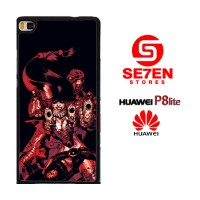 Casing HP HUAWEI P8 LITE Comics Suicide Squad Custom Hardcase Cover