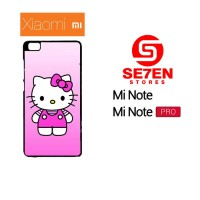 Casing HP Xiaomi Mi Note, Mi Note Pro Cute Hello Kitty 2 Custom Hardca