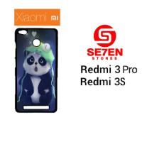 Casing HP Xiaomi Redmi 3 Pro 3S Cute panda Custom Hardcase Cover