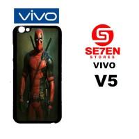 Casing HP VIVO V5 deadpool iphone wallpaper Custom Hardcase Cover