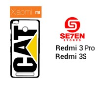 Casing HP Xiaomi Redmi 3 Pro 3S caterpillar logo Custom Hardcase Cover