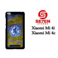 Casing HP Xiaomi Mi4i, Mi4c chelsea fc crest Custom Hardcase Cover