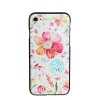 Harga iphone 7 rubber 3d full cover casing tpu soft case motif bunga | Pembandingharga.com