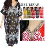 harga Baju Tidur Daster Batik Jumbo Big Size Rayon Xxxl Gaya India D17 Tokopedia.com