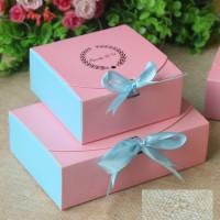 Jual Karton box kotak packing kue cookies roti mika bungkus souvenir pond Murah