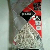 RUBI Tile Spacer 1.5 Mm Nat Accecoris Pengatur Jarak Marmer Granit Dll