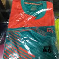 Kaos Badminton Rs Hnp 9008 Hitam Biru Hijau Ungu Oren Original
