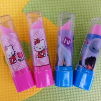 penghapus lipstik unik karakter - souvenir cinderamata unik