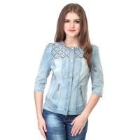 Dress / Atasan Wanita Jeans Trendy - SPI 157