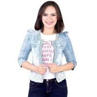 Dress / Atasan Wanita Jeans Trendy - SPI 638
