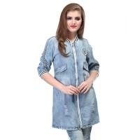 Dress / Atasan Wanita Jeans Trendy - SPI 839